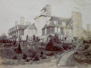 House from Croquet Lawn