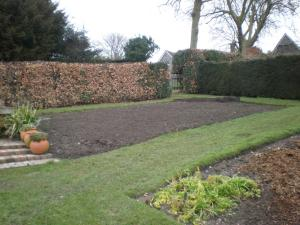 2009 Preparing the new herb bed